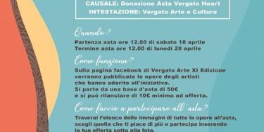 #vergatoheart Asta benefica a cura di Vergato Arte & Cultura