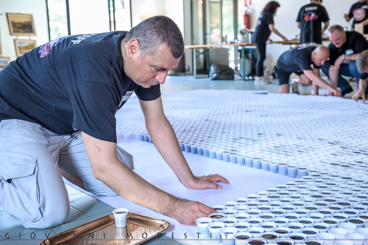 3 Luglio 2016 - RDM Guinness World Record - Coffee Mosaic