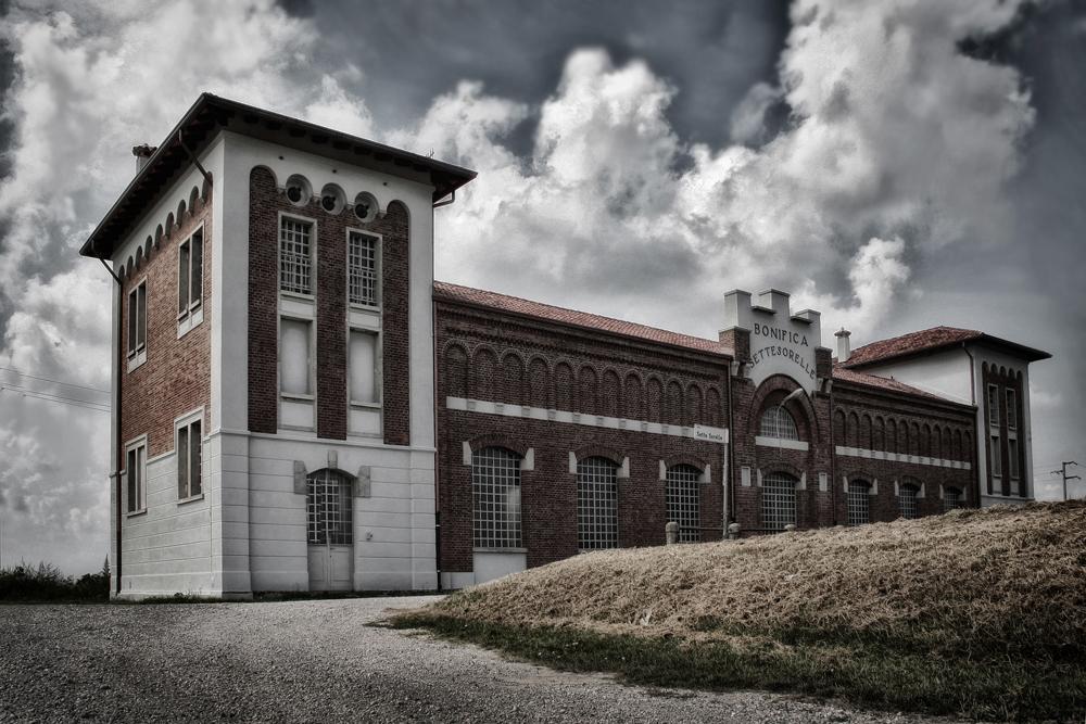 l'impianto idrovoro Sette Sorelle  1927  |comune S.Stino di Livenza VE |