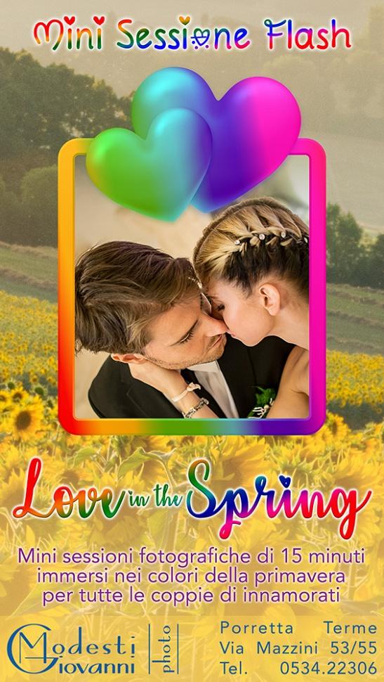 """Mini Sessioni flash """"Love in the Spring"""""""