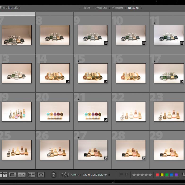 Corsi di postproduzione personali o di gruppo su Adobe Lightroom e Photoshop